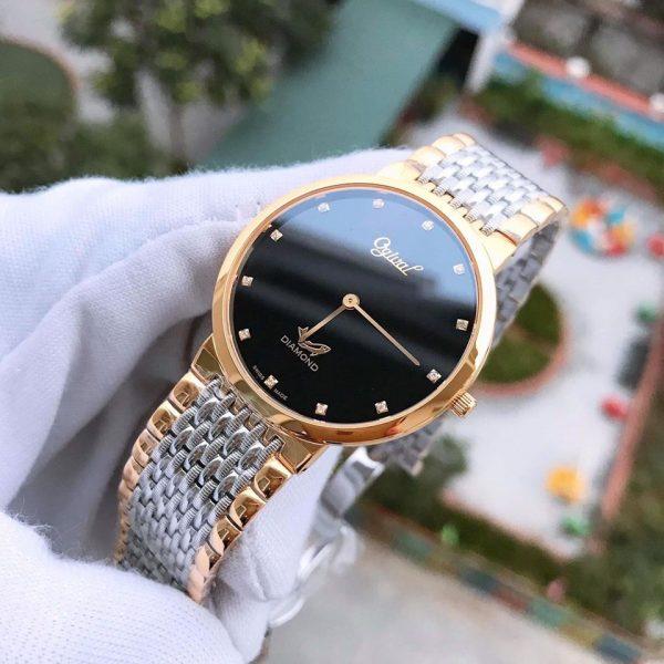 Đồng hồ nam Ogival OG385-022GSK-D