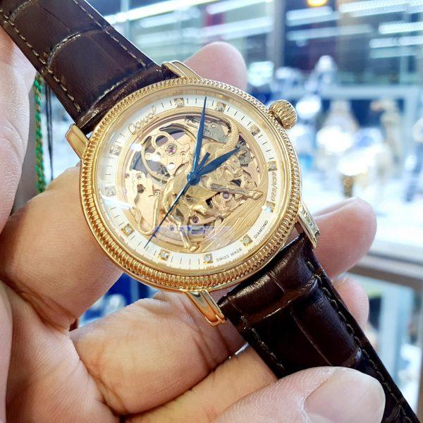 Đồng hồ nam Ogival OG358.51AGR42-GL